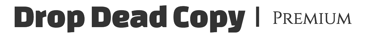 Drop Dead Copy Logo